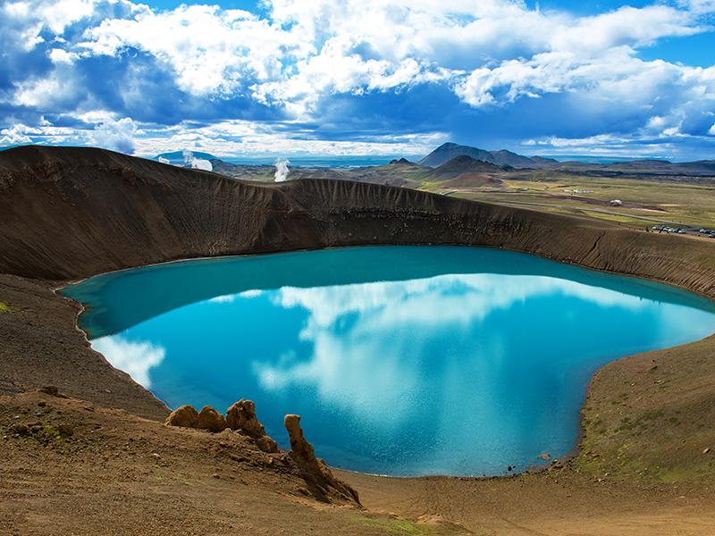 BILFERIE PÅ ISLAND_Komplett bilferie rundt Island med Din Islandsreise_Opplev Krafla på Island © Din Islandsreise