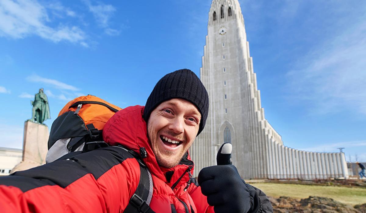 WEEKENDTUR TIL Reykjavik_Den flotte Hallgrimskirke © Din Islandsreise