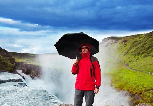 BILFERIE PÅ ISLAND_Bilferien Reykjavik & Sørkysten på Island_Gullfoss på Island © Din Islandsreise