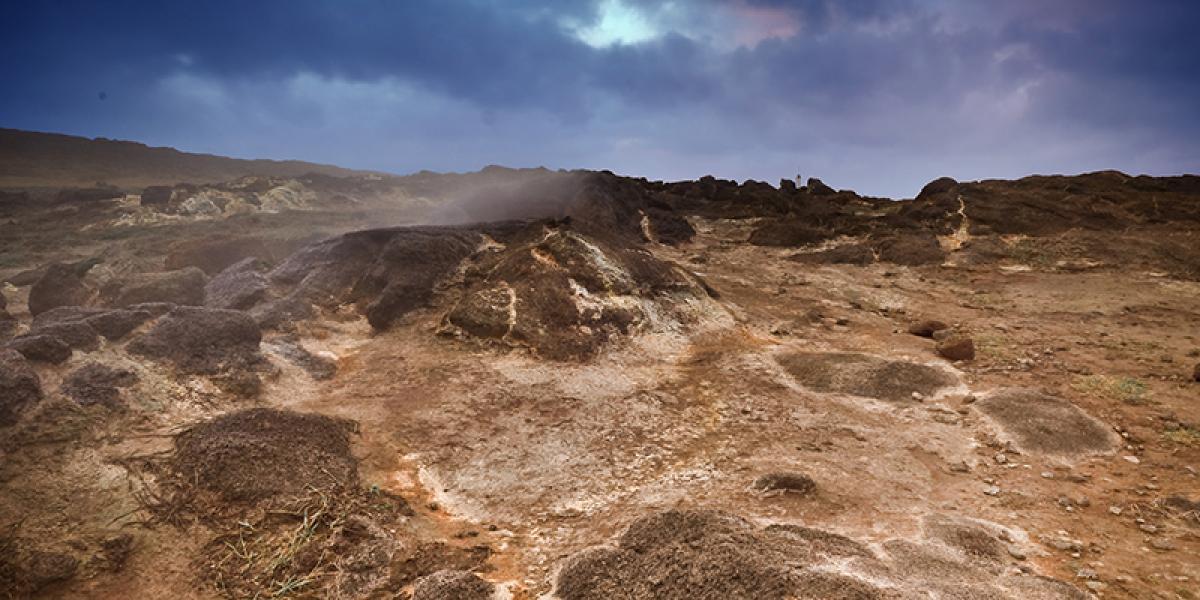 GUIDEDE TURER PÅ ISLAND_Dagsturer fra Reykjavik_Imponerende geotermiske områder på Island © Din Islandsreise