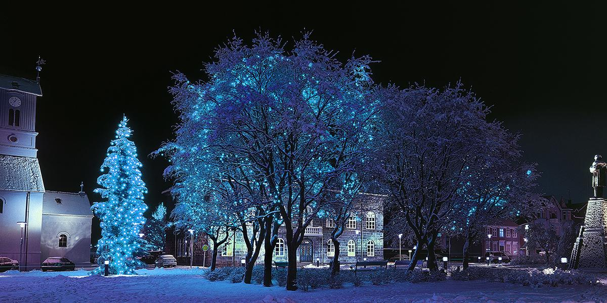 JUL OG NYTTÅR PÅ ISLAND_Juletur til Island_Julepuntet Reykjavik © Din Islandsreise