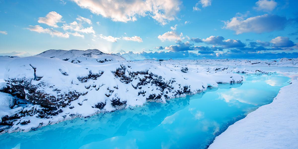 SUPER JEEP TURER PÅ ISLAND_Kjør Selv Super Jeep på Island_Hengill_Den Blå Lagune på vinterstid © Din Islandsreise