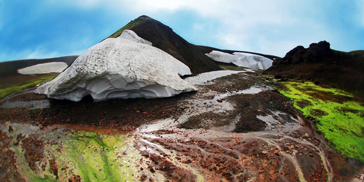 SUPER JEEP TURER PÅ ISLAND_Super Jeep kjøring på Island_Thorsmork_Fargerik natur på Island © Din Islandsreise