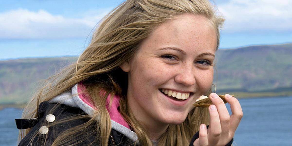WEEKENDTUR PÅ ISLAND MED GASTRANOMISKE OPPLEVELSER_God mat og matopplevelser på Island_Ferske skalldyr på Island © Din Islandsreise