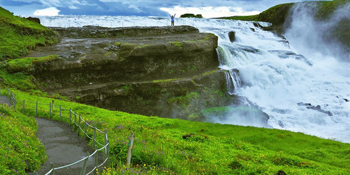 WEEKEND_Reykjavik og Den Gylne Sirkel med guide_Gullfoss © Din Islandsreise